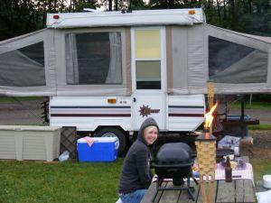 Dans un camping près de chez vous