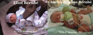 Vie de papa: Eliot et Charles-Antoine - ressemblance?