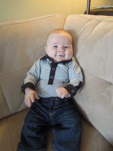 Vie de papa: Eliot - 3 mois